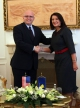 Remarks of President Jahjaga at the press conference, after the meeting with Mr. Philip Reeker